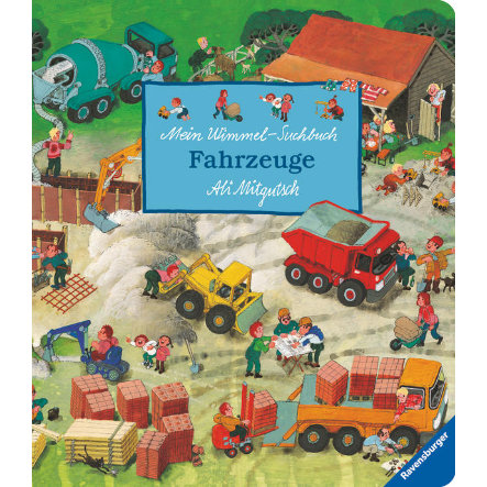 RAVENSBURGER Wimmel-Suchbuch Fahrzeuge