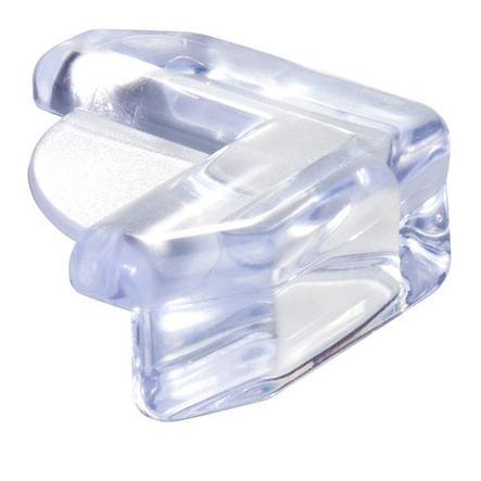 ALECTO Ochrana rohů transparentní -  4 Kusy