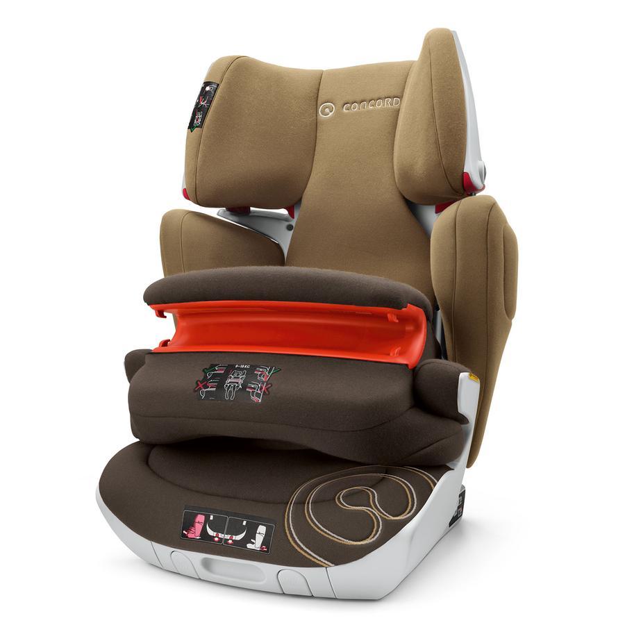 CONCORD Fotelik samochodowy Transformer XT Walnut Brown