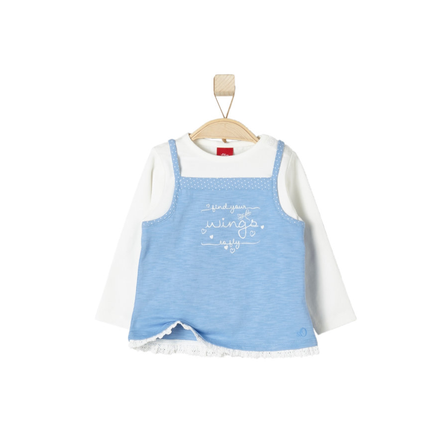 s.OLIVER Girls Longsleeve light blue