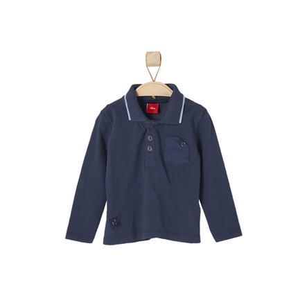 s.OLIVER Boys Poloshirt dark blue