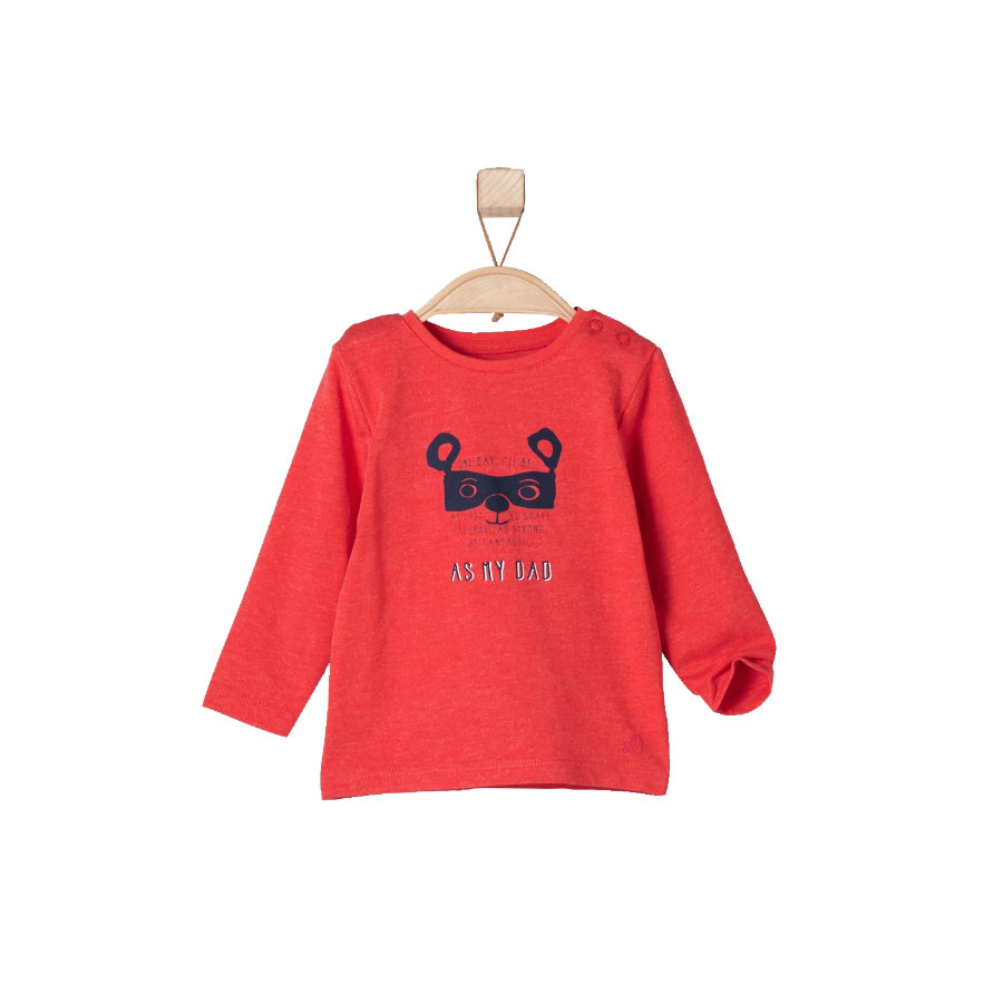 s.OLIVER Girls Longsleeve red melange