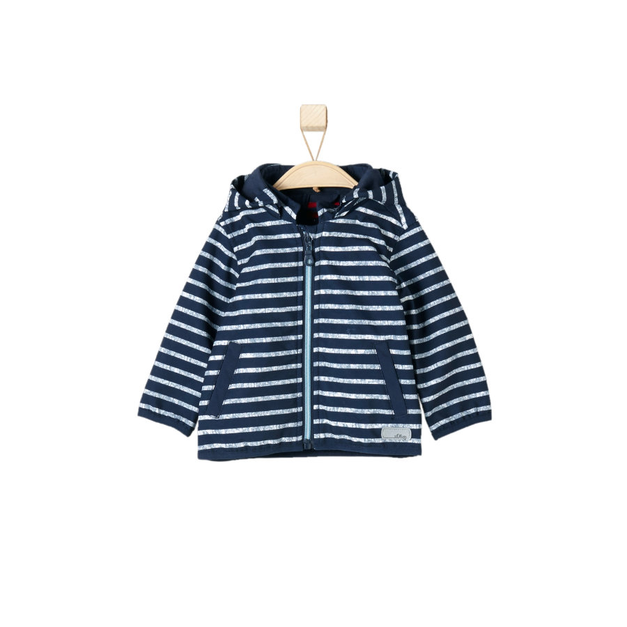 s.OLIVER Boys Softshell bunda blue stripes