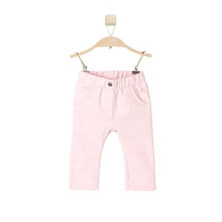s.OLIVER Girls Pantalone rosy melange