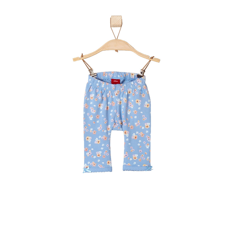 s.OLIVER Girls Leggings light blue