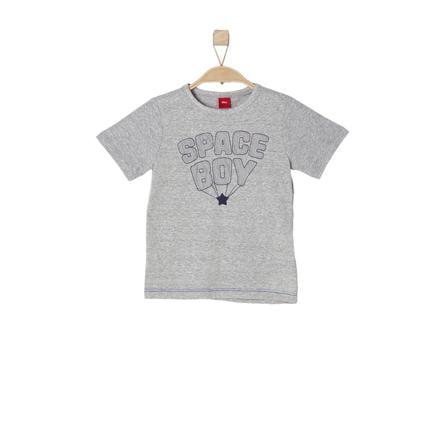 s.OLIVER Boys T-Shirt grijze melange