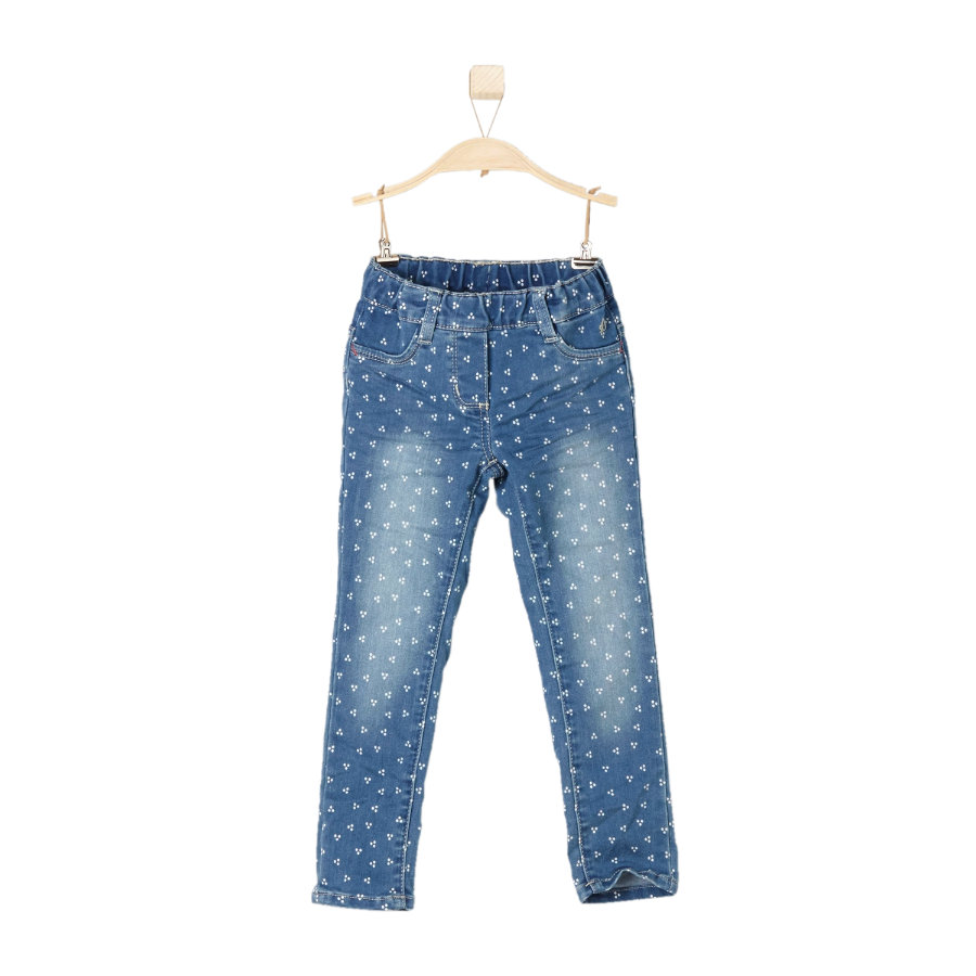 s.OLIVER Girls Jeans blau denim stretch slim