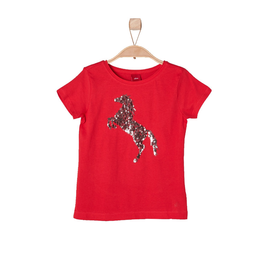 s.OLIVER Girls T-Shirt red