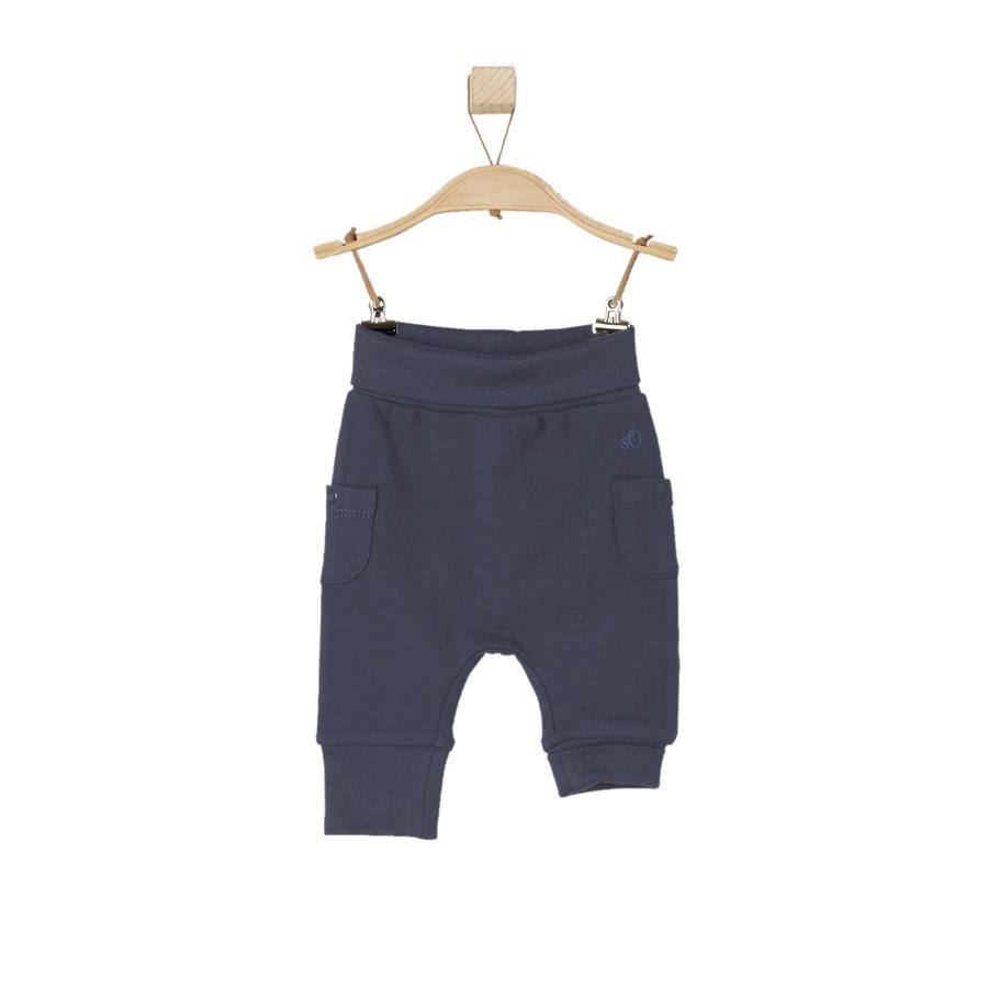 s.OLIVER Boys Spodnie z dresami w kolorze ciemnoniebieskim.