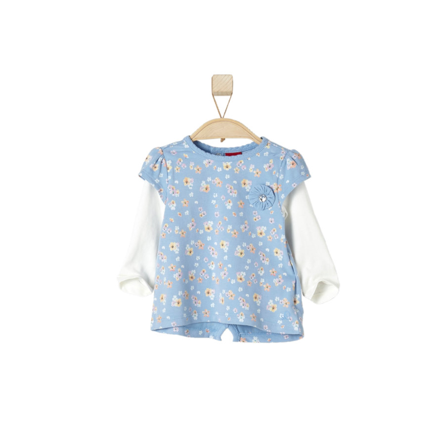 s.OLIVER Girl s Manches longues bleu clair