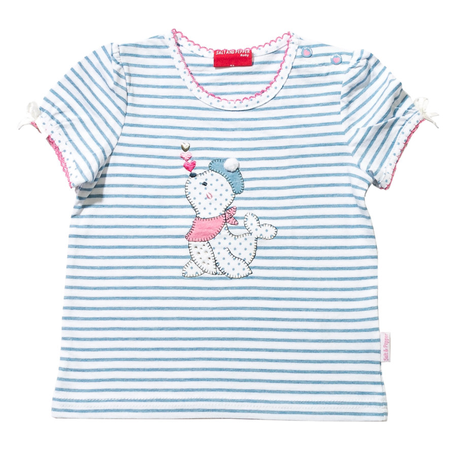 SALT AND PEPPER Girls T-Shirt light blue