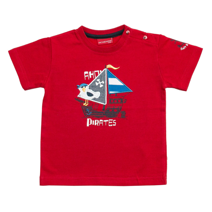 SALT AND PEPPER Boys T-Shirt red