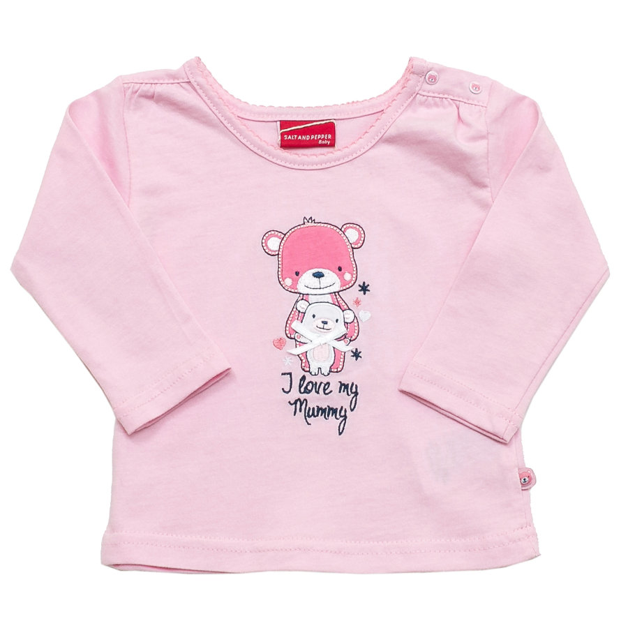 SALT AND PEPPER Girls Longsleeve rosé