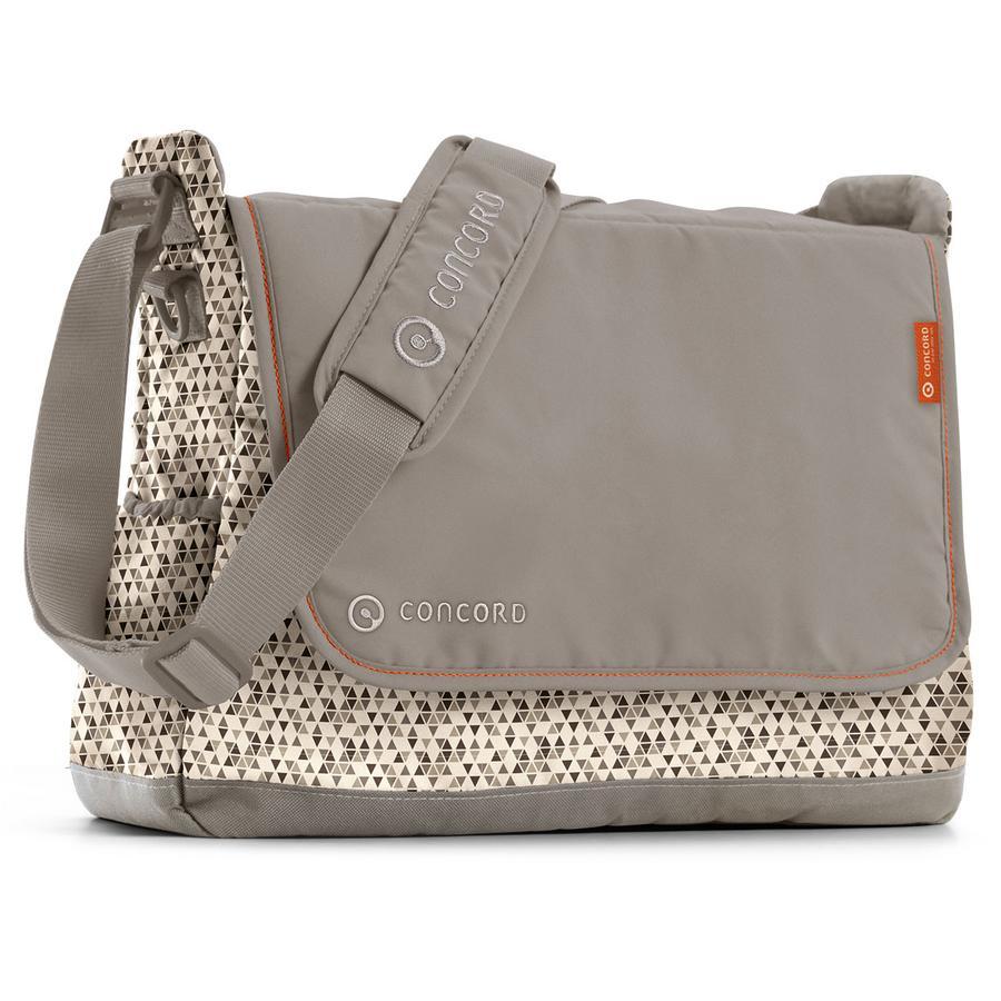 CONCORD Wickeltasche Citybag Cool Beige