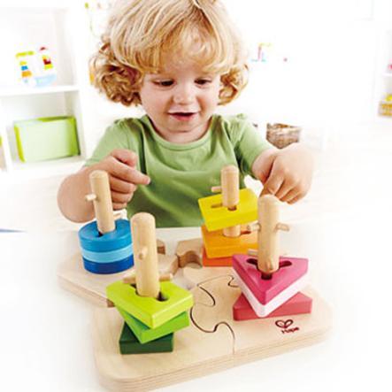 HAPE Puzzle à empiler créatif