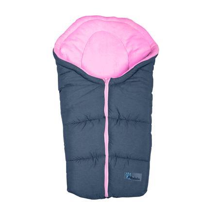 ALTABEBE Wintervoetenzak Alpin, voor buggy en kinderwagen donkergrijs - roze