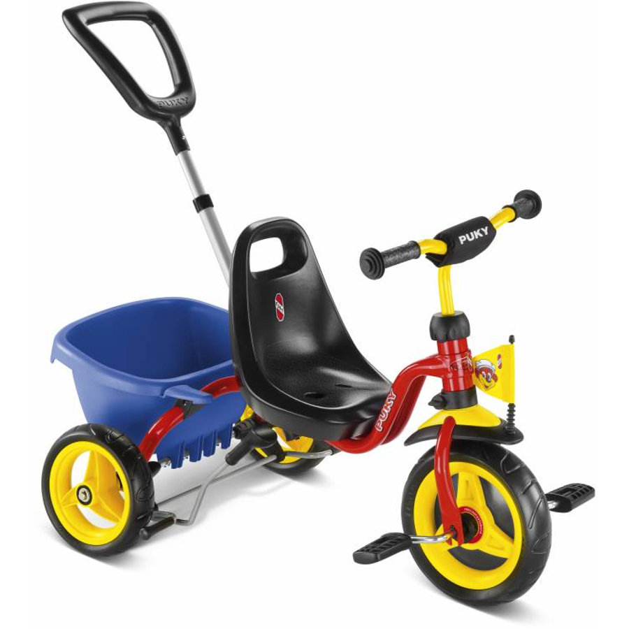 PUKY Tricycle CAT 1 S, rouge 2223