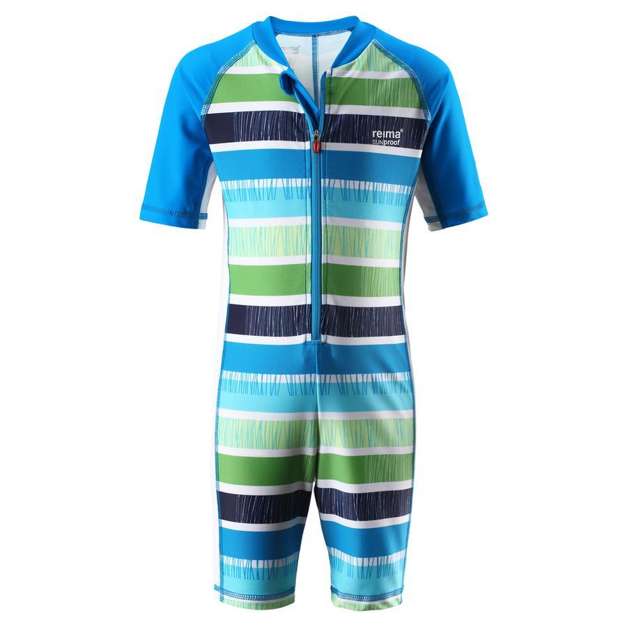 REIMA Boys Schwimmanzug Galapagos ocean blue