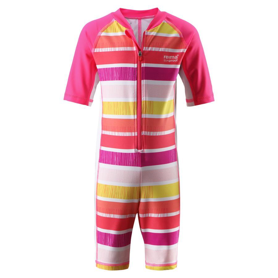 REIMA Girls Schwimmanzug Galapagos supreme pink