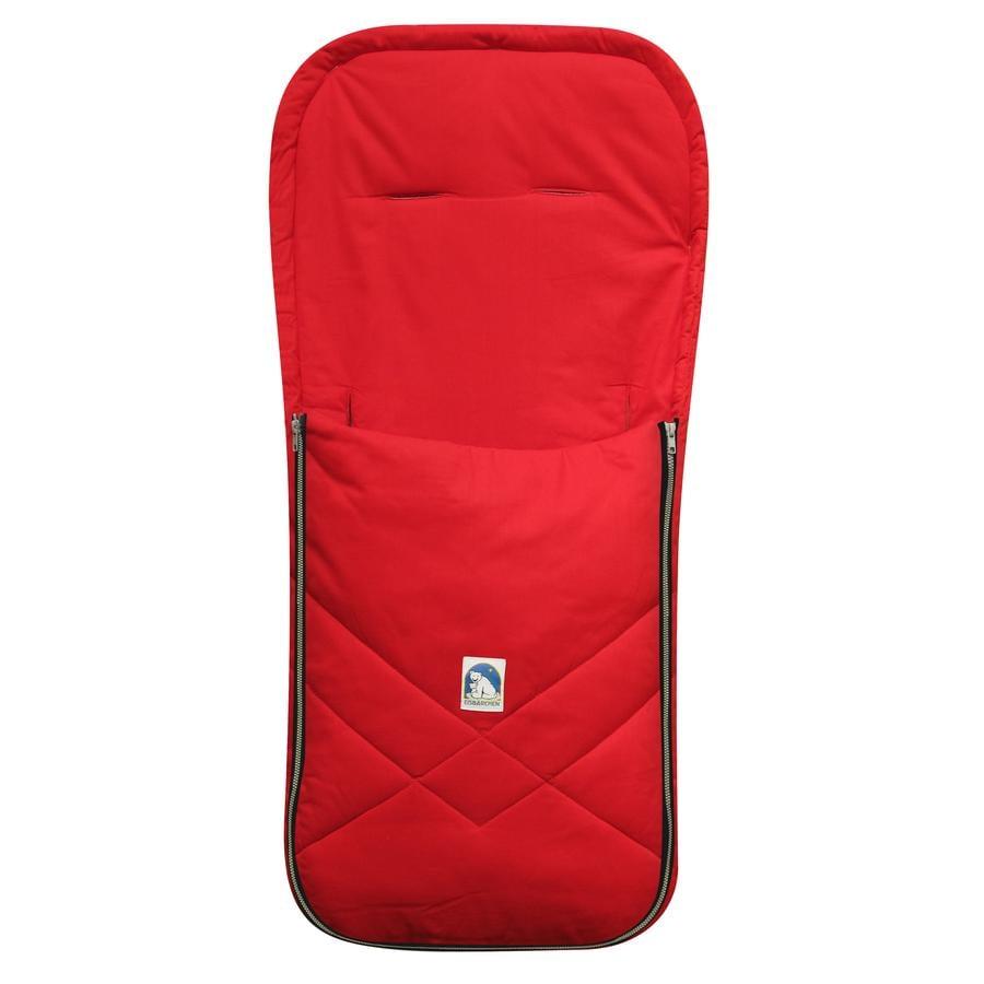 HEITMANN Sommerkørepose Isbjørn rød