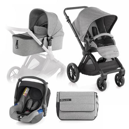 JANE Sportwagen Muum inklusive Babyschale Koos und Tragewanne Micro Soil
