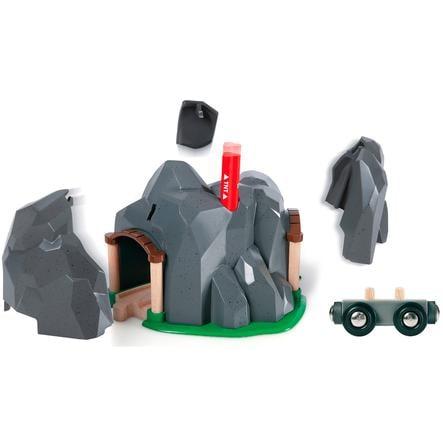 BRIO Builder Akce s dynamitem - tunel