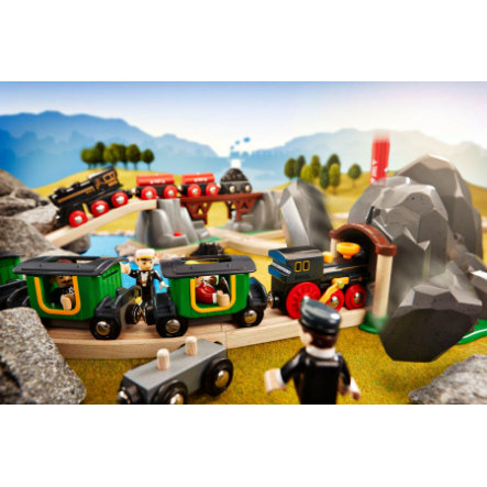 BRIO Builder dynamiet tunnel