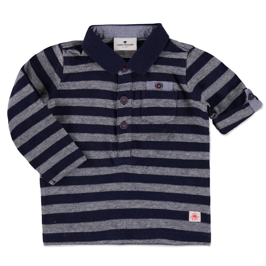 TOM TAILOR Boys Poloshirt dark blue