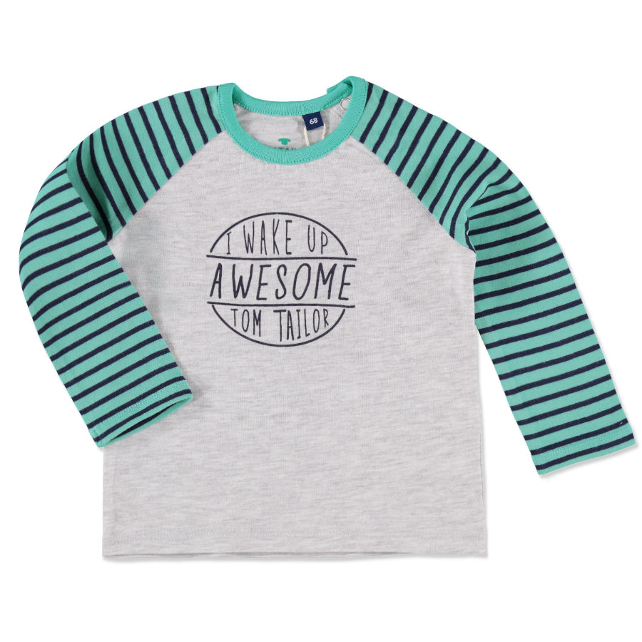 TOM TAILOR Boys Longsleeve grey