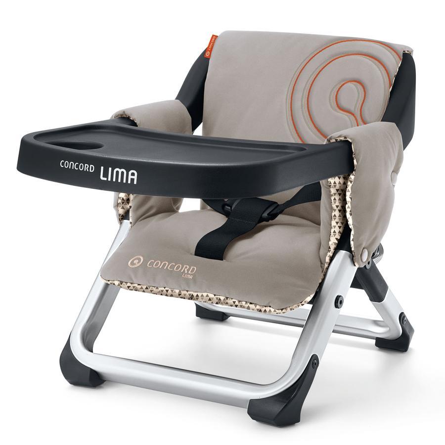 CONCORD Podróżne krzesełko do karmienia LIMA Cool Beige