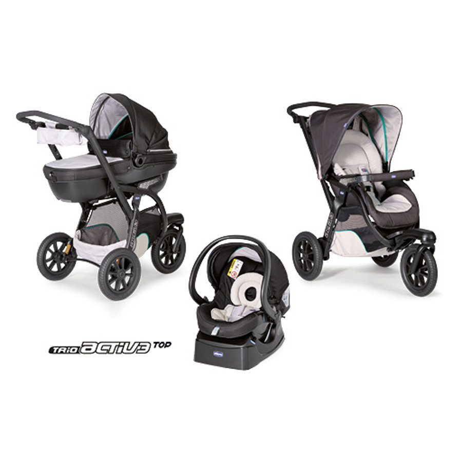 CHICCO Travel-System Trio Activ3 mit KIT-Car DUNE
