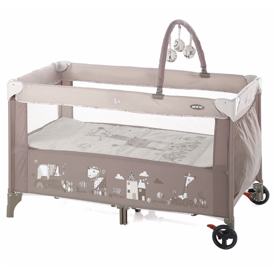 JANE Travel Cot Duo Level Toys Tangram II