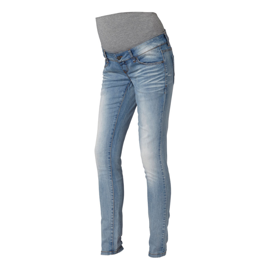 MAMA LICIOUS Umstands Jeans MLFREY hellblau