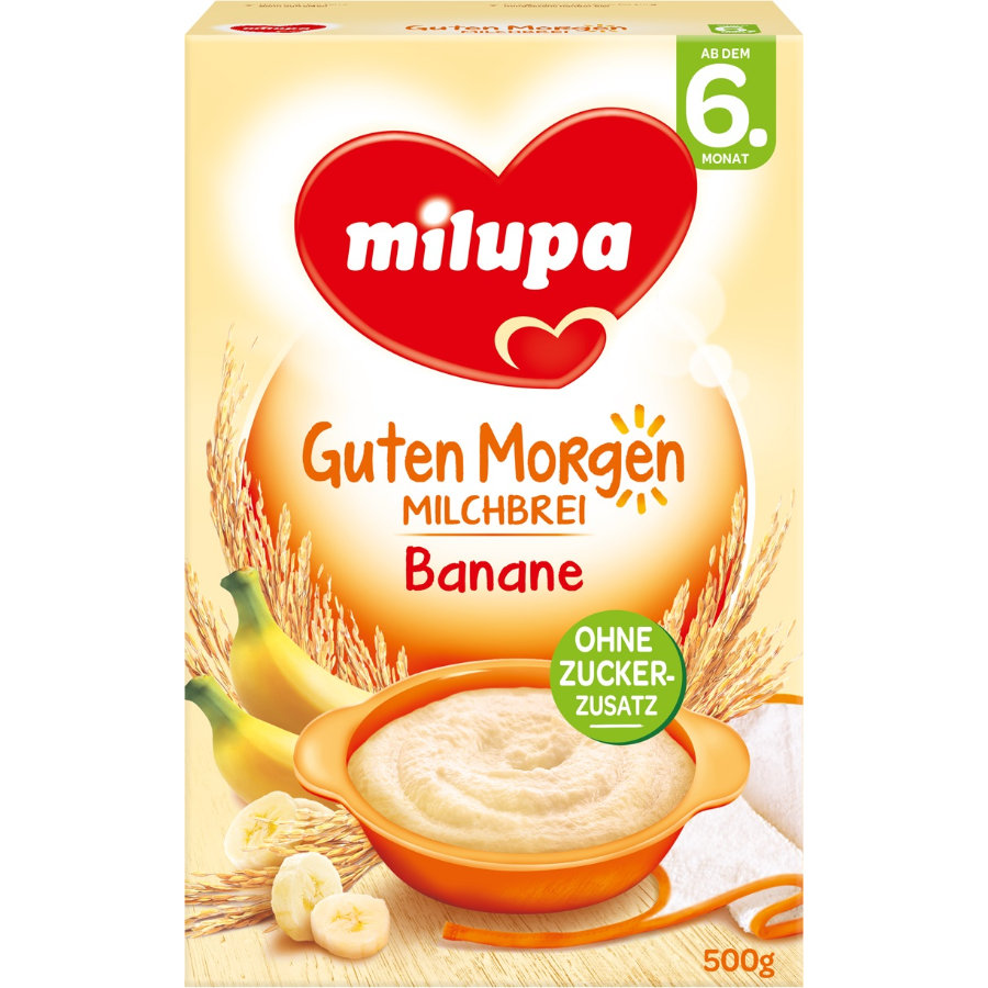 Milupa Milk Mash Banana 500g