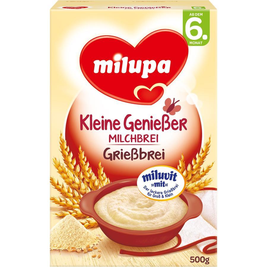 milupa Kleine Genießer Milchbrei Grießbrei 500 g ab dem 6. Monat