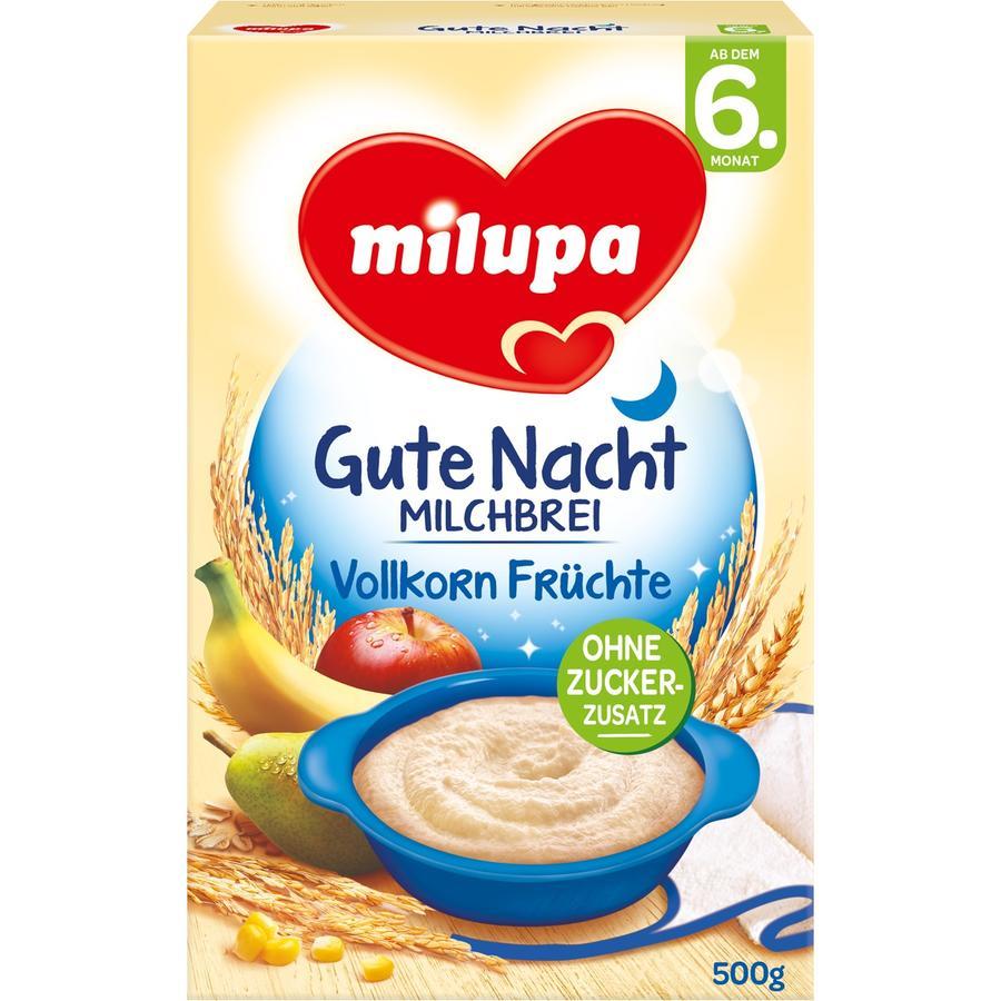 milupa Gute Nacht Milchbrei Vollkorn Früchte 500 g