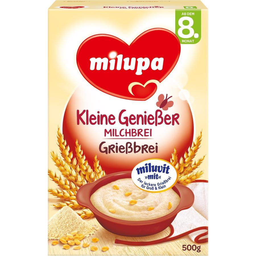 Milupa Semolina Mash with Milk miluvit >with< 500g