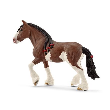 Schleich Figurine jument Clydesdale 13809