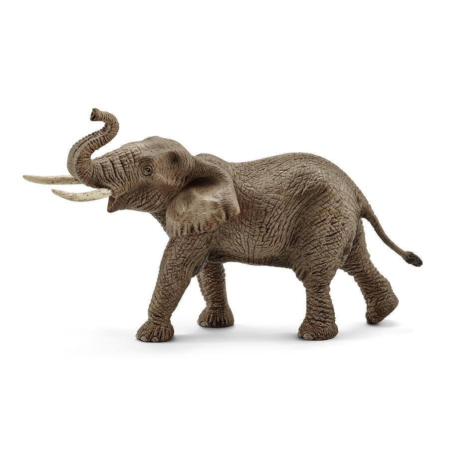 Schleich Figurine éléphant d'Afrique mâle 14762