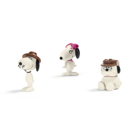 Schleich Scenery Pack Peanuts - Snoopy's siblings 22058