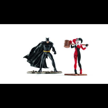 SCHLEICH Scenery Pack DC Comics - Batman contre Harley Quinn 22514