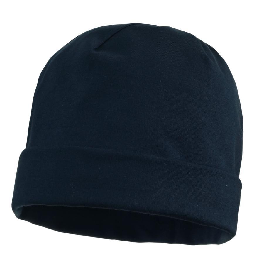 MAXIMO Mini cappuccio con bordo di copertura blu scuro scuro