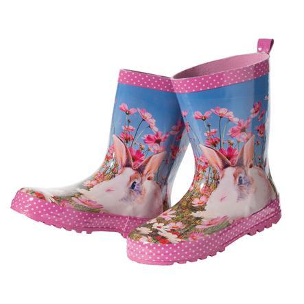 MAXIMO Girl s stivali di gomma stivali di coniglio mandorla in fiore