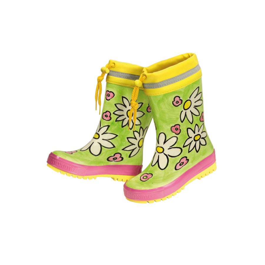 maximo Girls Gummistiefel frog/sonne
