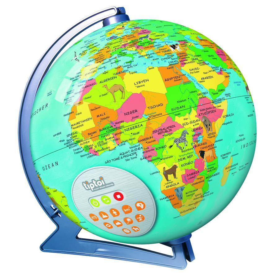 Ravensburger tiptoi® Interaktiver Globus (Halbschalen) 00558
