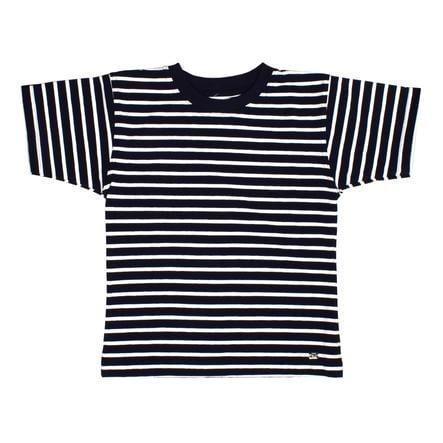 Maximo Camicia manica corta Ringel bianco scuro navy navy bianco