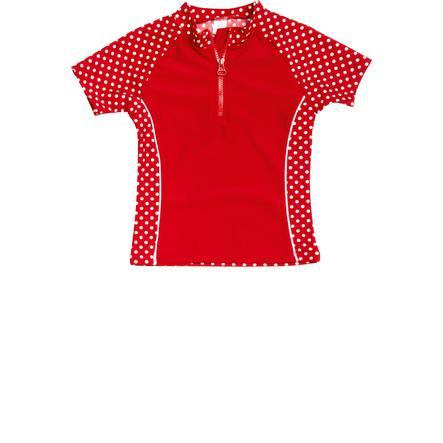 PLAYSHOES Dívčí souprava s UV ochranou 2-díly červená