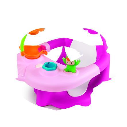 SMOBY Cotoons - 2-v-1 Dětské sedátko na koupání, růžové