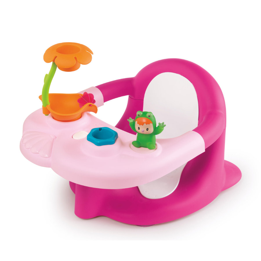 Smoby Cotoons 2-in-1 babybadesete rosa