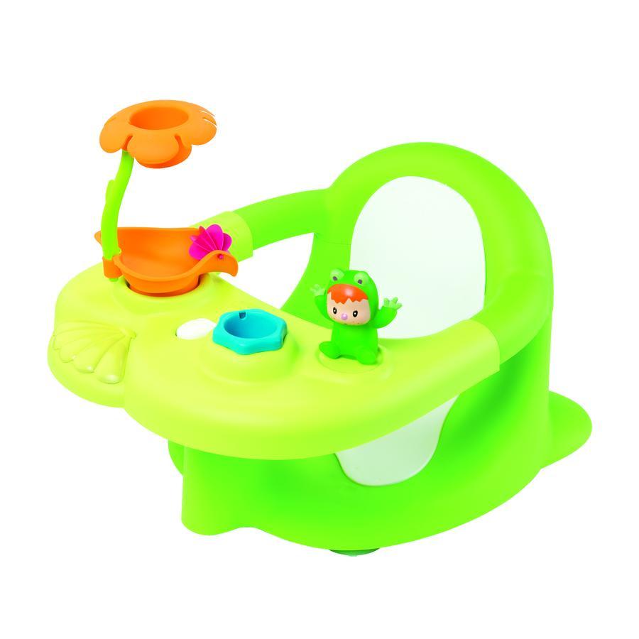 SMOBY Cotoons -  2-v-1 Dětské sedátko na koupání, zelené